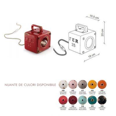 1650FL-culori-disponibile-si-marime. Corp iluminat in stil industrial. Lampa interior stil industrial.