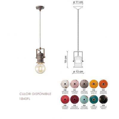 Lampa suspendata stil urban pentru cafenea, bistro