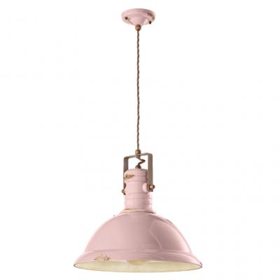 Lampa suspendata Industrial 1690FL roz, iluminat, copr iluminat, lampa, lustra interior