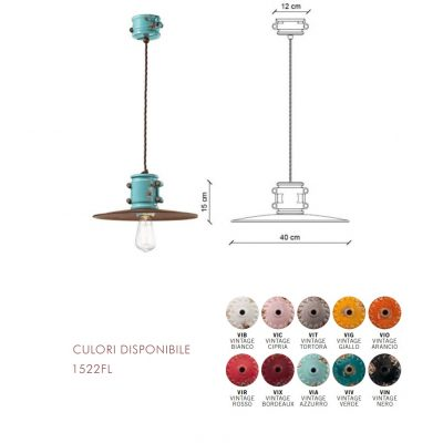 Lampă suspendată Urban 1522FL dimensiune si culori disponibile