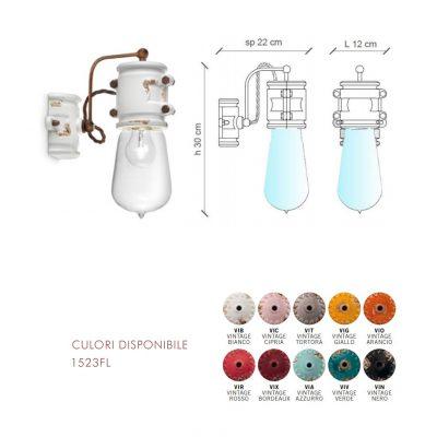 Lampă suspendată Urban 1523FL dimensiuni si culori disponibile