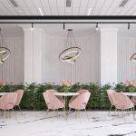 Layoutul si designul locației. Design interior cafenea