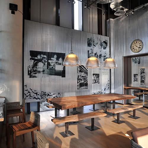 6 Idei de interioare pentru cafenea stil industrial
