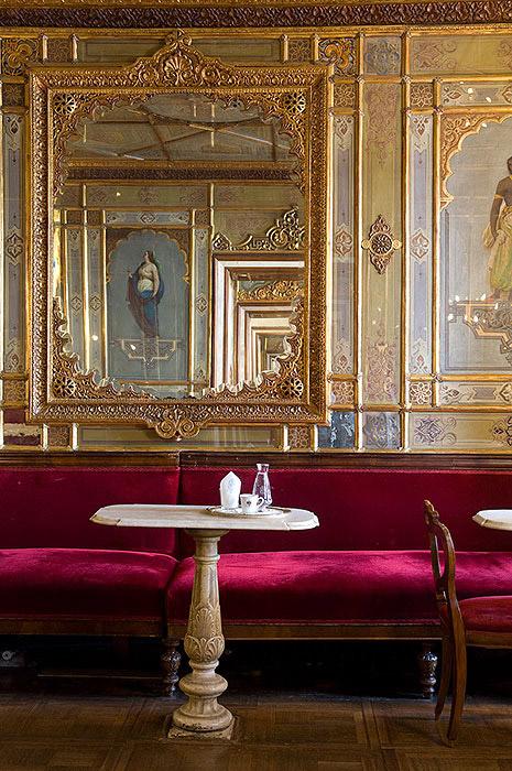 Cafeneaua Florian. Interior cafenea.