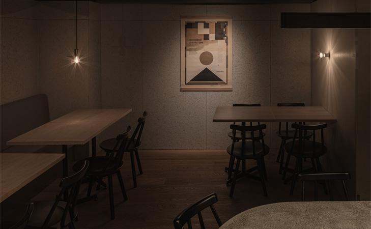 Design restaurant Grillno - Keiji Ashizawa