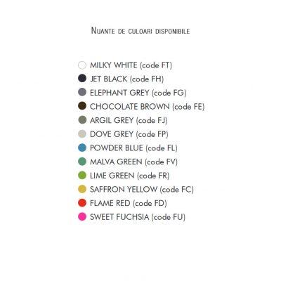 Oglinda Love nuante de culori disponibile
