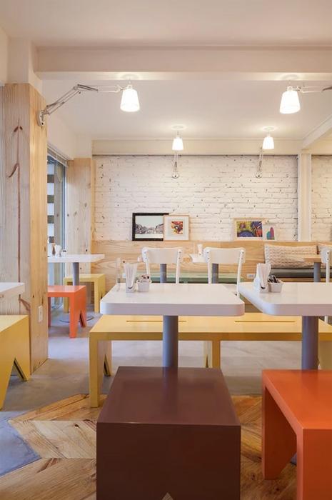 Interior cafenea. Mobilier interior cafenea.