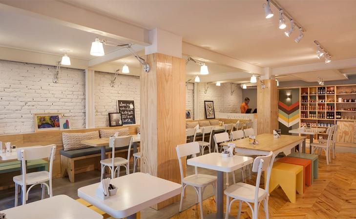 Padarie - Design cafenea Brazilia. Design interior cafenea.