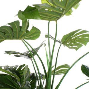 Arbore artificial decorativ Monstera Deliciosa. Plante artificiale. Arbori decorativi cafenea, Arbori decorativi restaurant. Arbori decorativi spatii comerciale.