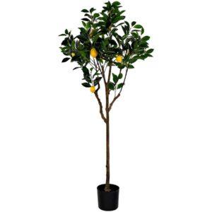 Arbore lămâi artificial decorativ. Copac artificial decor. Arbori artificiali pentru cafenea. Arbori artificiali pentru restaurant. Arbori artificiali spatii comerciale.