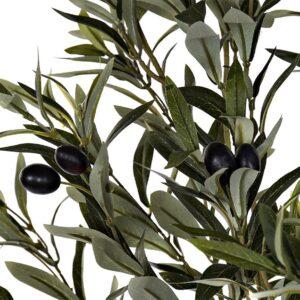 Arbore maslin artificial decorativ din material textil. Plante artificiale decorative.