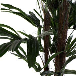 Frunze palmier artificial decorativ Excelsa. Plante artificiale restaurant, cafenea, bistro, interioare, living.