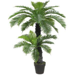 Palmier artificial decorativ Cycas. Palmier decorativ restaurant. palmier decorativ cafenea. Palmier decorativ spatii comerciale.