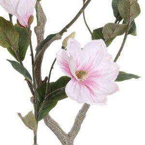 Plantă artificială decorativă Magnolie inflorita. PLanta artificiala decor cafenea. Decoratiuni spatii horeca.