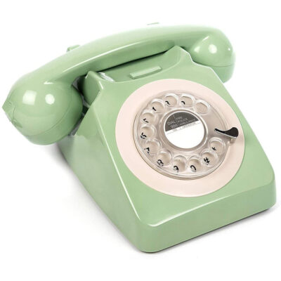 Replica decorativa telefon R746 culoare verde. Imitatii decorative