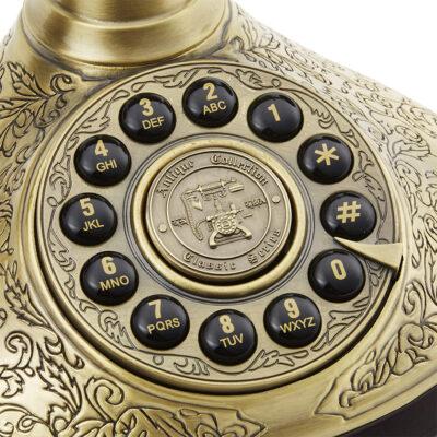 Replică decorativă telefon retro Ducesa. Obiecte decorative cafenea. obiecte decorative restaurant.