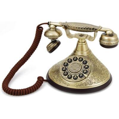 Replică decorativă telefon retro Ducesa. Obiecte decorative interior.Decoratiuni cafenea, bistro, bar, restaurant. telefon decorativ. Decoratiuni Hotel. Decoratiuni restaurant.