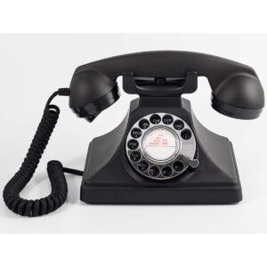 Replica decorativa telefon retro R200. Obiecte decorative interior. Telefon fix stil retro.