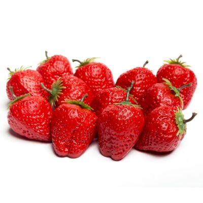 Capsuni artificiali decorativi. Fructe artificiale. Fructe decorative artificiale