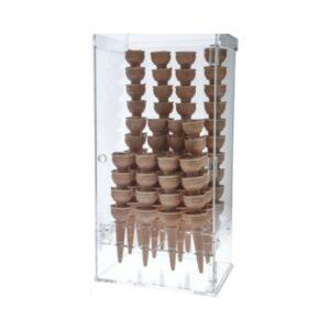Suport vertical conuri inghetata. Suport conuri inghetata 120 bucati
