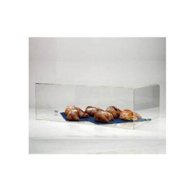 Vitrina display acrilica double sided. Mobilier prezentare produse cafenea, bistro, ceainarie.